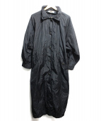 SONIA RYKIEL(ソニアリキエル)の古着「ナイロンコート」|ブラック