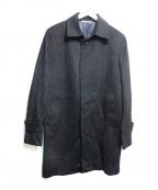 DURBAN(ダーバン)の古着「カシミヤコート」|ブラック