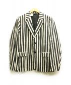 N.HOOLYWOOD(エヌハリウッド)の古着「リネン混テーラードジャケット」|ホワイト