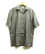 SCYE(サイ)の古着「2/94先染ウールトロピカル開襟シャツ」|グレー