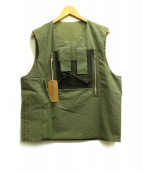 FROM THE GARRET(フロムザギャレット)の古着「タクティカルベスト」|グリーン