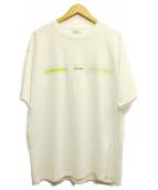 STUDIO SEVEN(スタジオ セブン)の古着「FACTOR Tshirt」|ホワイト