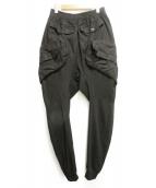 JULIUS(ユリウス)の古着「GASMASK CARGO PANTS」|ブラック