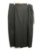 BED J.W. FORD(ベッドフォード)の古着「BATTLE DRESS SKIRT. Ver.1」|ブラック