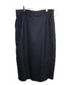 BED J.W. FORD(ベッドフォード)の古着「skirt pants ver.1」|ネイビー
