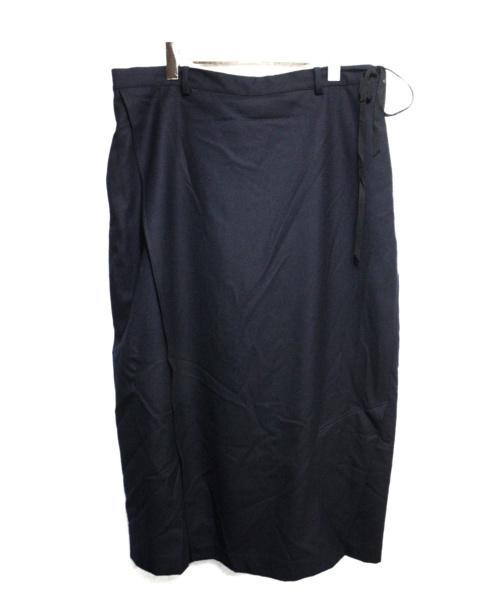 BED J.W. FORD(ベッドフォード)BED J.W. FORD (ベッドフォード) skirt pants ver.1 ネイビー 秋9の古着・服飾アイテム