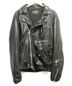 glamb(グラム)の古着「Basquiat riders」 ブラック
