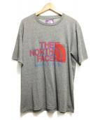 THE NORTH FACE PURPLE LABEL(ザノースフェイス パープルレーベル)の古着「H/S Logo Tee」|グレー