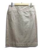 S Max Mara(エス マックスマーラ)の古着「チノタイトスカート」|ブラウン