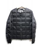 MAYSON GREY(メイソングレイ)の古着「インナーダウンジャケット」|ブラック