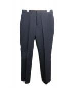 N.HOOLYWOOD(エヌハリウッド)の古着「テーパードスラックスパンツ」 ブラック