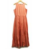 MARIHA(マリハ)の古着「夏のレディのドレスNS」 コーラルピンク