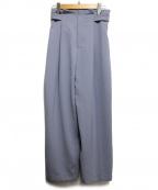 Droite lautreamont(ドロワットロートレアモン)の古着「ソリビアハニービンテージパンツ」|ネイビー