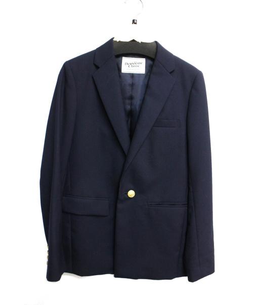 DEUXIEME CLASSE(ドゥーズィエム クラス)Deuxieme Classe (ドゥーズィエムクラス) ウールギャバ金釦ブレザー ネイビー サイズ:36の古着・服飾アイテム