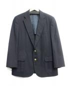 BROOKS BROTHERS(ブルックスブラザーズ)の古着「金釦2Bジャケット」|ネイビー