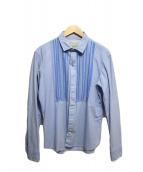 KOLOR(カラ)の古着「比翼ブザムシャツ」