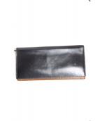 土屋鞄(ツチヤカバン)の古着「レザーウォレット」|ブラック