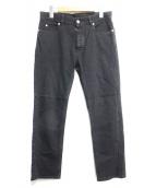 Martin Margiela14(マルタンマルジェラ14)の古着「5ポケットブラックデニム」|ブラック