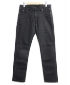 Martin Margiela 10(マルタンマルジェラ10)の古着「ブラックデニム」|ブラック