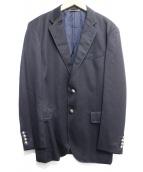 Paul Smith(ポールスミス)の古着「本切羽ステッチテーラードジャケット」|ネイビー