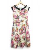TOCCA(トッカ)の古着「AFTER RAIN ドレス」|ピンク
