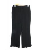 LE CIEL BLEU(ルシェルブルー)の古着「トランペットシルエットパンツ」|ブラック