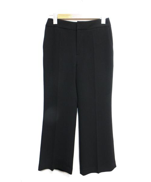LE CIEL BLEU(ルシェルブルー)LE CIEL BLEU (ルシェルブルー) トランペットシルエットパンツ ブラック サイズ:34の古着・服飾アイテム