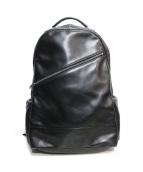 LUGGAGE LABEL(ラッゲジレーベル)の古着「バックパック」 ブラック