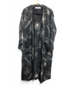 LAGUNA MOON(ラグナムーン)の古着「ラフフラワーガウン」|ブラック