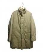DKNY(ダナキャランニューヨーク)の古着「ダウンコート」 ベージュ