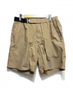 Graphpaper()の古着「TYPEWRITER COOK SHORTS」|ブラウン