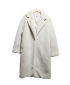 ROPE(ロペ)の古着「チェスターボアコート」|ホワイト