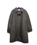 THE NORTHFACE PURPLELABEL(ザノースフェイスパープルレーベル)の古着「ステンカラーコート」|ブラウン