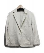 ()の古着「リネン混テーラードジャケット」 アイボリー