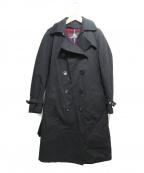 GRENFELL(グレンフェル)の古着「ライナー付トレンチコート」|ブラック