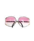 Christian Dior(クリスチャンディオール)の古着「サングラス」|ピンク