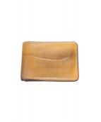 WILDSWANS(ワイルドスワンズ)の古着「2つ折り財布」|ベージュ