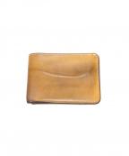 WILDSWANS()の古着「2つ折り財布」 ベージュ