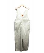 UNIVERSAL OVERALL(ユニバーサルオーバーオール)の古着「ジャンプスーツ」|ベージュ