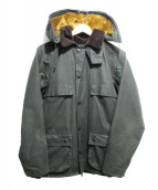 Barbour(バブアー)の古着「OLD BEDALE WITH HOOD」|カーキ
