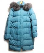DAMA collection(ダーマコレクション)の古着「ダウンコート」 ブルー