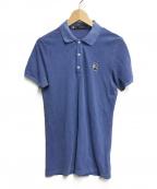 DSQUARED2(ディースクエアード)の古着「ボストンテリアワッペンポロシャツ」|ブルー
