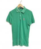 DSQUARED2(ディースクエアード)の古着「ボストンテリアワッペンポロシャツ」|グリーン