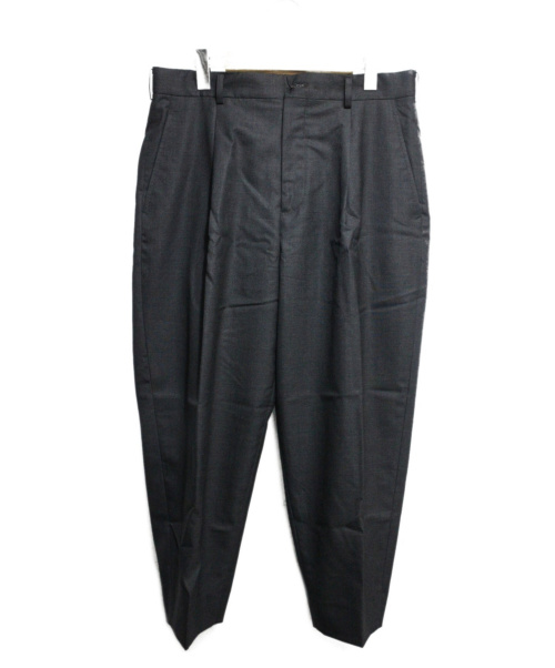 COMME des GARCONS HOMME DEUX(コムデギャルソン オム ドゥ)COMME des GARCONS HOMME DEUX (コムデギャルソン オム ドゥ) タックワイドパンツ グレー サイズ:Mの古着・服飾アイテム