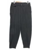 ISSEY MIYAKE MEN(イッセイミヤケメン)の古着「コットンパラシュートパンツ」 ブラック