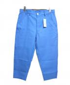 COMME des GARCONS SHIRT BOY(コムデギャルソンシャツ ボーイ)の古着「クロップドテーパードパンツ」 ブルー