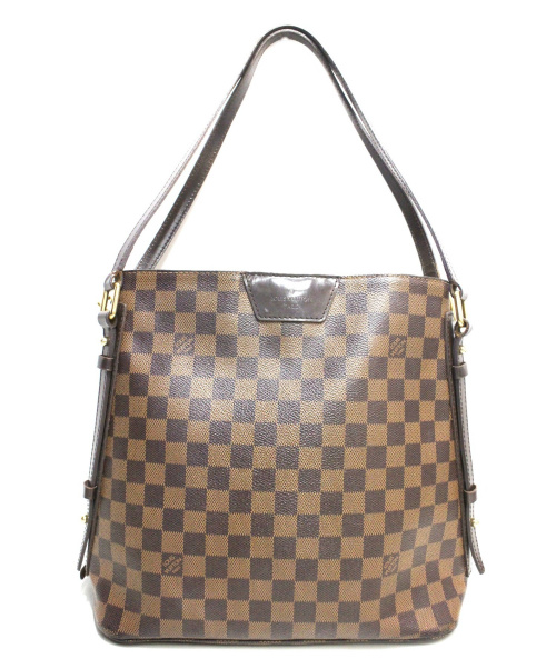 LOUIS VUITTON(ルイヴィトン)LOUIS VUITTON (ルイヴィトン) カバ・リヴィントン ブラウン ダミエ N41108 CA0151の古着・服飾アイテム