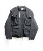 SEVESKIG(セヴシグ)の古着「STRETCH MULTIFUNCTION JACKET」|ブラック
