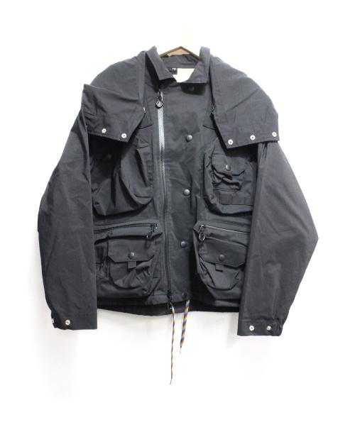 SEVESKIG(セヴシグ)SEVESKIG (セヴシグ) STRETCH MULTIFUNCTION JACKET ブラック サイズ:S 定価59.400円の古着・服飾アイテム