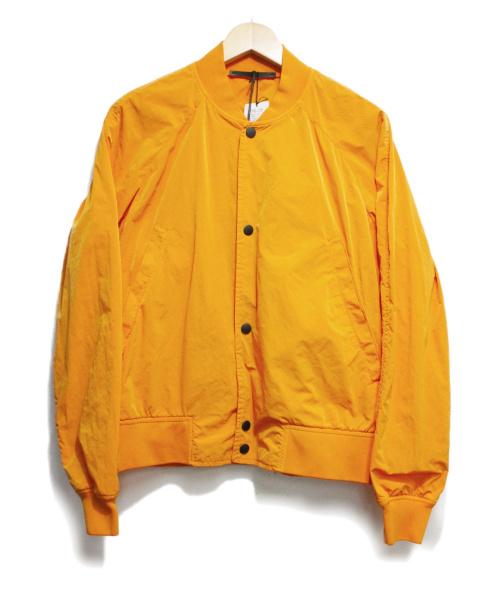 PS Paul Smith(ピーエスポールスミス)PS Paul Smith (ピーエスポールスミス) OVER DYE TWILL Short Blouson オレンジ サイズ:M 定価46.200円の古着・服飾アイテム
